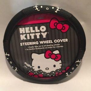 Hello Kitty Steering Wheel Cover (New)